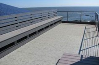 Decking and rail